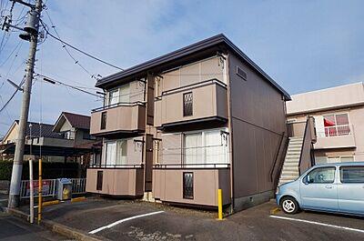 外観,1K,面積24.8m2,賃料3.2万円,JR常磐線 赤塚駅 3.2km,,茨城県水戸市見川