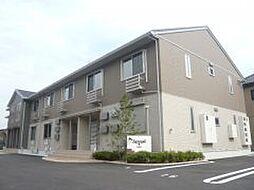 滋賀県大津市滋賀里2丁目の賃貸アパートの外観