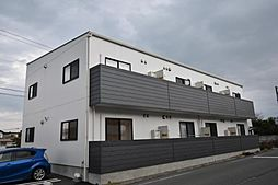 徳島県板野郡藍住町東中富字西傍示の賃貸アパートの外観