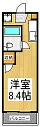 リリーハイツ[2階]の間取り