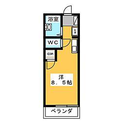 エミューヤマト[2階]の間取り