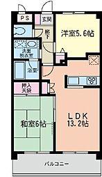 渋谷レジデンス[3-B号室]の間取り