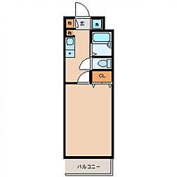 エレメント神宮[704号室号室]の間取り