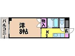 ライブタウン鉄砲町・[9階]の間取り