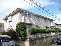 東京都町田市小川3丁目の賃貸アパートの外観