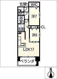 プレサンスグラン丸の内 909号室[9階]の間取り