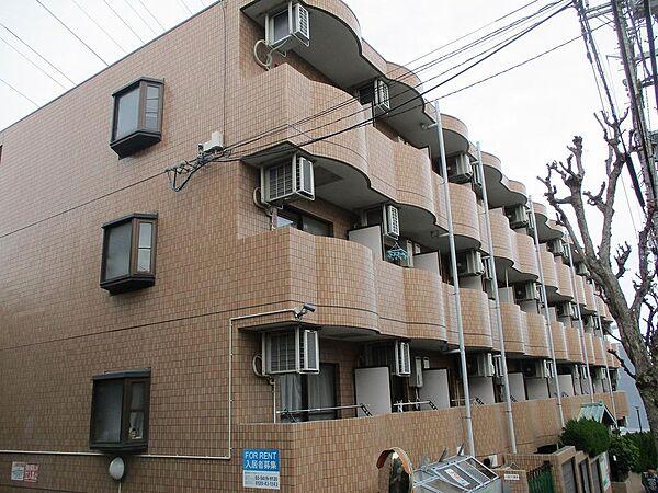 神奈川県川崎市宮前区有馬8丁目の賃貸マンションの外観