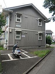 シャトレーひばりA棟[102号室]の外観