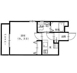 スプリングストーンM[2階]の間取り