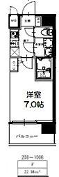 S-RESIDENCE新大阪Ridente[1008号室号室]の間取り