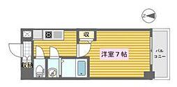 KDX新町レジデンス[1階]の間取り