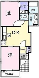 デスパシオ[1階]の間取り