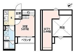 リジョルテ堺[1階]の間取り