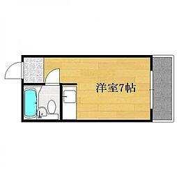 エスポワール豊川[1階]の間取り