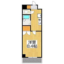 グランデ36[4階]の間取り