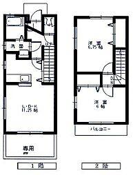 [タウンハウス] 広島県東広島市西条町寺家 の賃貸【/】の間取り
