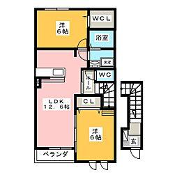 irideI[2階]の間取り