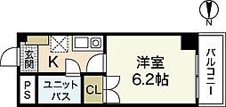 センテニアル横川[3階]の間取り