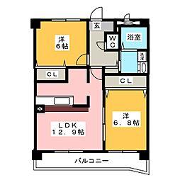 SPACEIII[3階]の間取り