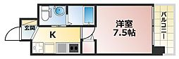 ERCity's兵庫駅[10階]の間取り