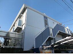 東京都目黒区緑が丘1丁目の賃貸アパートの外観