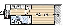 エスリード福島WEST[10階]の間取り