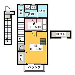 トップハウス富士 I[2階]の間取り