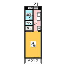 サニーサイドII[2階]の間取り