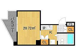 シーサー2[3階]の間取り