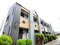 神奈川県藤沢市鵠沼桜が岡4丁目の賃貸アパートの外観