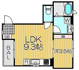 ケイズホーム[2階]の間取り