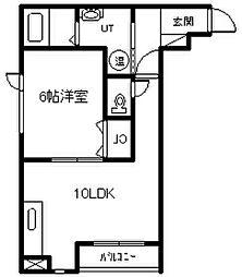 新築 Agreable[301号室]の間取り