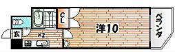ニューエバーグリーン八幡[2階]の間取り