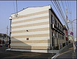 レオパレスウイズダム[203号室]の外観
