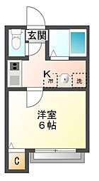 クオンタムコート[1階]の間取り