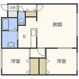 ワンニャンハウス[1階]の間取り