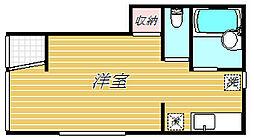 千葉県市川市大和田3丁目の賃貸アパートの間取り
