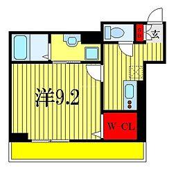 (仮称)D-room幕張本郷3-4 1階1Kの間取り