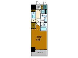 Osaka Metro長堀鶴見緑地線 大正駅 徒歩9分の賃貸マンション 8階1Kの間取り