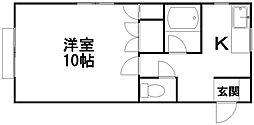 ストークハウス[1階]の間取り