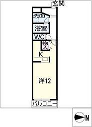 セピアハイツ[3階]の間取り