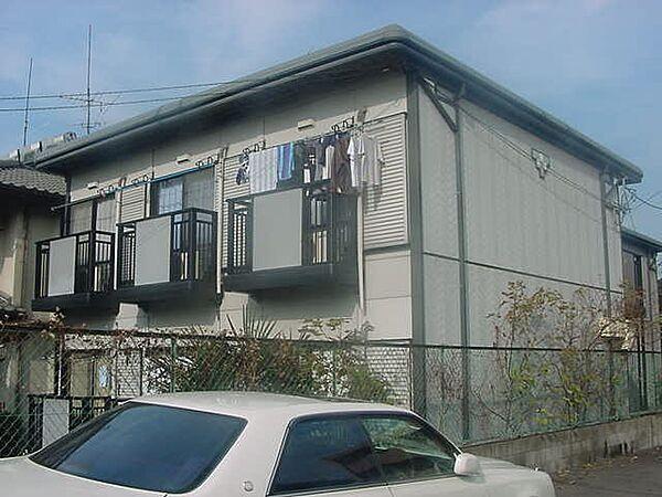 京都府京都市山科区大宅中小路町の賃貸アパート