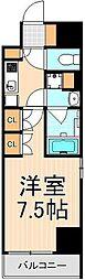 プレール・ドゥーク西浅草[401号室]の間取り