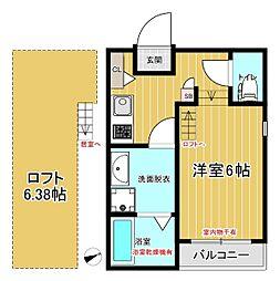 (仮称)ハーモニーテラス鳴海町字山腰A棟[103号室]の間取り