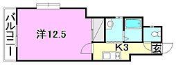 サンコ−ト桑原[307 号室号室]の間取り