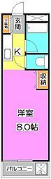 アクネス大泉[1階]の間取り