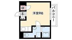 愛知県名古屋市南区柴田本通3丁目の賃貸マンションの間取り