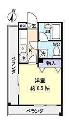 サンノーブル八千代台弐番館[3階]の間取り