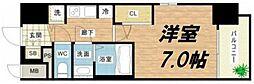 W-STYLE大阪城南[4階]の間取り