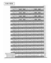 グランクリュ佐古 WEST[2階]の外観